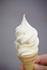 White ice cream