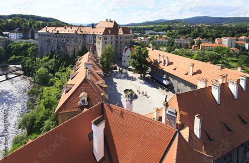 Cesky Krumlov Castle in the Czech Republic.