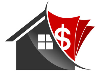 Red investment reale state logo