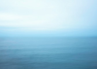 blue sea abstract