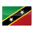 Flagge St Kitts und Nevis