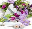 Romantisches Gedeck für verliebte in lila :)