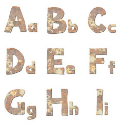 Font real stone
