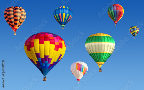 Plexiglas Ballon Hot air baloons