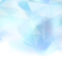 Abstract crystal structure background template