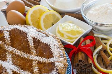 Typical sweet Campania - Neapolitan pastiera