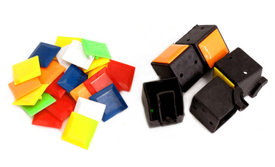 parts of  Rubik's cube