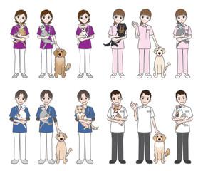 獣医師 / 医者 / 看護師