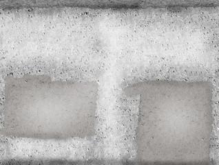 zugemauerte Betonwand - Hintergrund