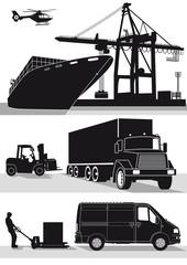 Transport und Spedition