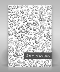 flyer_with_floral_design