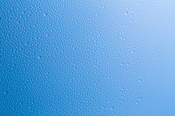 Blue Raindrop Background