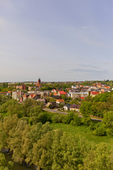 View of Swiecie town, Poland