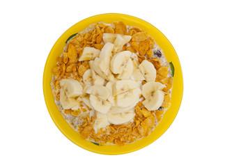 Muesli with banana