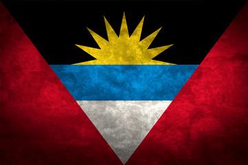 Antigua and Barbuda grunge flag