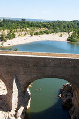 The river Herault in the South of France