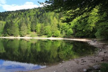 Lac des Corbeaux dans les Vosges