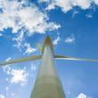 canvas print picture - Windkraftanlage