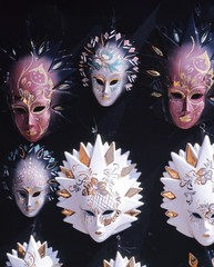 Venitian Glass Masks, Venice, Italy © Arena Photo UK