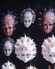 Venitian Glass Masks, Venice, Italy © Arena Photo UK