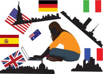 collegamento internazionale