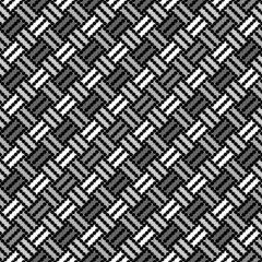 Design seamless monochrome geometric pointed pattern