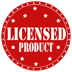 Licensed Product-label