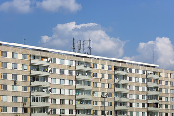 panel housing estates in Hradec Kralove