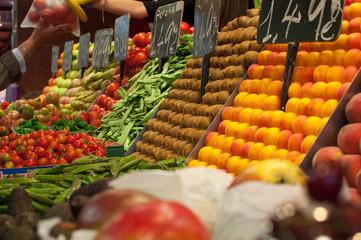 Gemüse & Obstmarkt