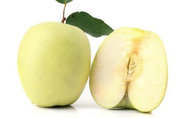 Apfel isoliert