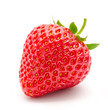 Perfect red ripe strawberry isolated - 65144793