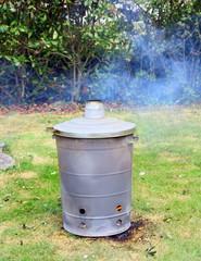 incinérateur à végétaux