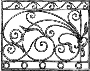 decorative architectural detail