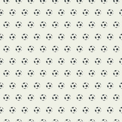 Soccer balls background.