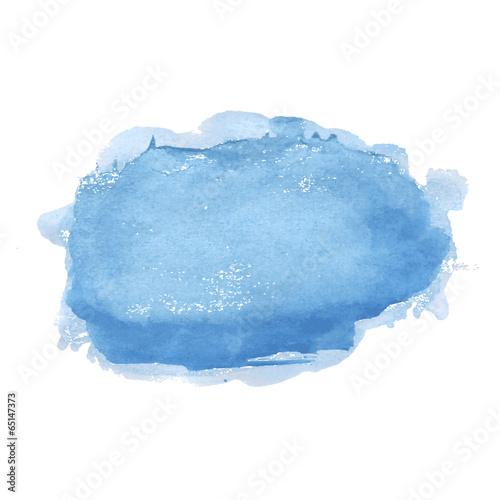 Fotobehang Vormen Blue Pastel Stain