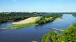 Leinwanddruck Bild - La Loire