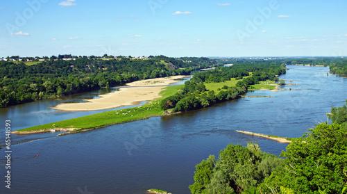 In de dag Rivier La Loire