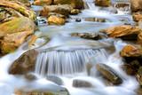 nice cascade of mountain stream