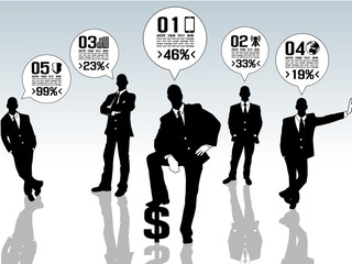 BUSINESSMAN CONCEPT OPTIONS