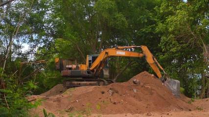 Excavator Working 2