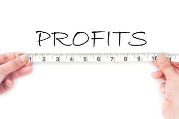 Meausuring profits