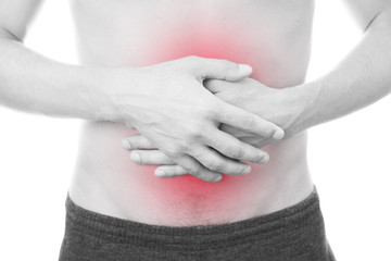 Abdominal pain of the men