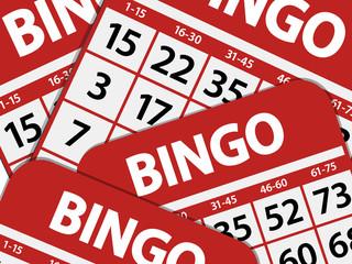bingo card background