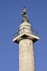 Top of Trajan column