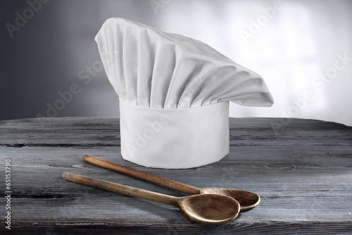 Fotobehang Koken cook