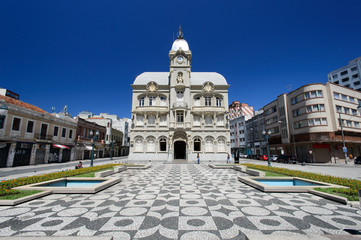 Old town hall in Curitiba, Brazil