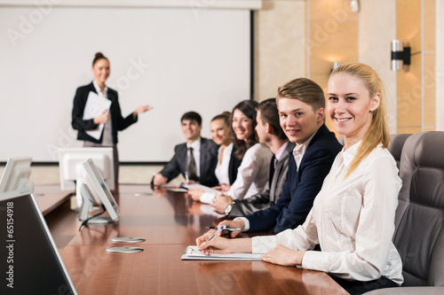 Group business people