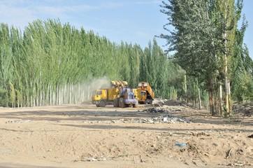 クチャ、ウイグル自治区、中国