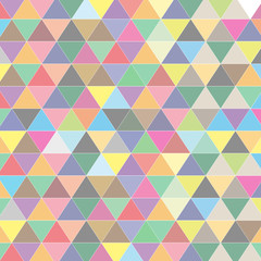 illustration triangle color background