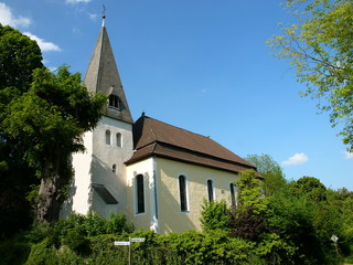 Dorfkirche in Stapelage bei Hörste im Kreis Lippe bei Detmold